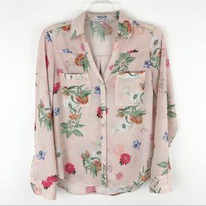 Express Portofino floral blouse